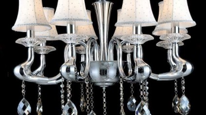 8368-8 Crystal Pendant light
