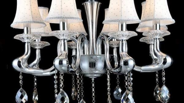 8368-8 Crystal Pendant light
